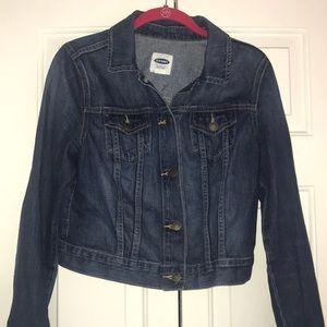 Old navy denim jacket.